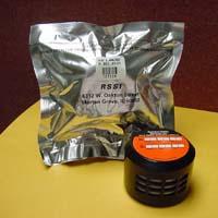 A kit for testing for radon