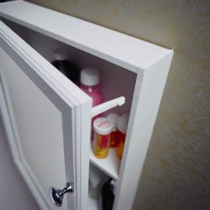 A medicine cabinet